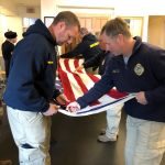 MSFA Honor Guard Training in Washington DC