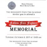 Fall Fire Fighter Memorial